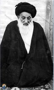 آیت الله حاج سید یونس اردبیلی ازعالمان مبارز مشهد علیه طرح کشف حجاب