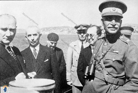 سفر رضاخان به ترکیه و دیدار وی با مصطفی کمال آتاتورک که تاثیر فکری فراوانی بر وی نهاد