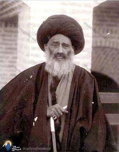 آیت الله سید عبدالله بهبهانی از رهبران جنبش مشروطیت ایران