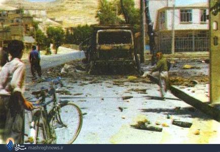 شهرهای مسیر حرکت منافقین مثل اسلام آباد و قصر شیرین و سرپل ذهاب هم دوباره رنگ جنگ به خود گرفته بود
