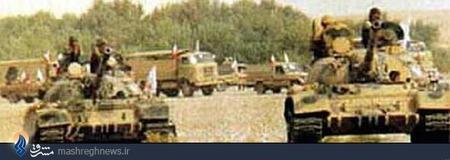 تجهیزات عراقی با پرچم ارتش آزادیبخش ملی ایران وارد خاک میهنمان شد