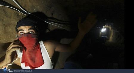 ارتباط تلفنی در درون تونل ها