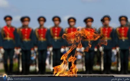 مراسم یکصدمین سال جنگ جهانی اول در مسکو