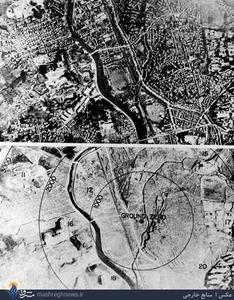 تصاویری از قبل و بعاز برخورد بمب اتمی با شهر هیروشیما