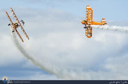 مسابقات جهانی نمایش هوایی در شهر اسکات انگلستان