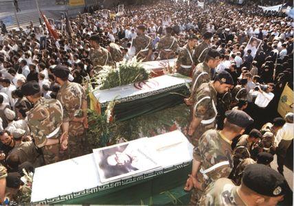 مراسم تشییع شهید سید اسدالله لاجوردی