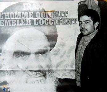 شهید حسام عراقی در دوران اقامت امام در نوفل لوشاتو
