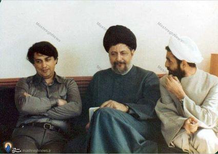 از آخرین تصاویر امام موسی صدر در کنار مرحوم علی حجتی کرمانی و سید صادق طباطبایی