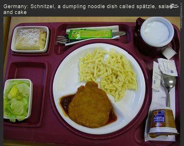غذای یک بیمارستان در آلمان