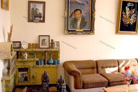 نمایی از منزل مسکونی استاد سید محمدحسین بهجت تبریزی ملقب به شهریار
