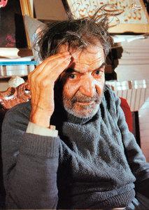 استاد سیدمحمدحسین بهجت تبریزی ملقب به شهریار در کهنسالی