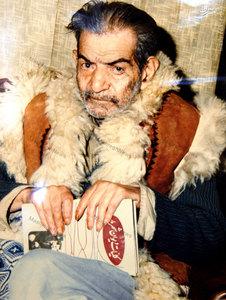استاد سید محمد حسین بهجت تبریزی ملقب به شهریار در کهنسالی