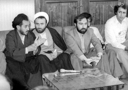 شهید سید عبدالکریم هاشمی نژاد در سفر به سوریه به همراه جواد منصوری و مسیح مهاجری