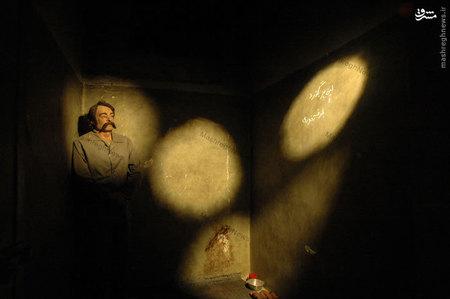 تندیس خسرو گلسرخی در موزه عبرت ایران