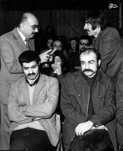 خسرو گلسرخی و کرامت الله دانشیان در دادگاه خویش