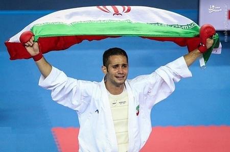 سعید حسنی پور کاراته مردان 75- کیلوگرم