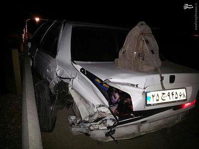 همسر هادی عامل حوادث واقعی تصادف خودرو بیوگرافی هادی عامل اخبار حوادث