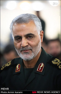 حاج قاسم لیمانی در تهران
