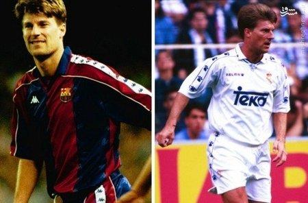 یکی از ستاره های تیم رویایی یوهان کرایوف، بعد از حضور روماریو در نوکمپ، جایگاهش در ترکیب اصلی بارسا را از دست داد و سرانجام راهی تیم رقیب شد. او بین سال های 95 تا 97 برای رئال بازی کرد.