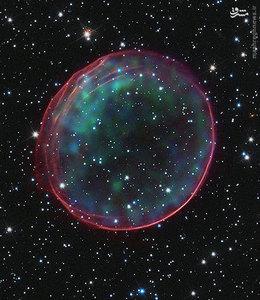 ابرنواختر 0509-67.5 در ابرهای ماژلانی بزرگ واقع شده است و کهکشان کوچکی است که حدود 17 میلیون سال نوری از زمین فاصله دارد. ابرنواختر ه ساختار باقیمانده از انفجار ستارهای که ابرنواختر است، میگویند.