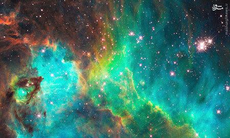 تصویری از سحابی که حدود 170 هزار سال نوری از زمین فاصله دارد.