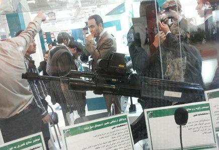 کلاشینکف مجهز به Holographic weapon sight در نمایشگاه ایپاس