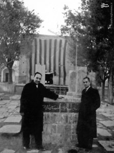 مزار شهید سید حسین امامی در گورستان ابن بابویه تهران