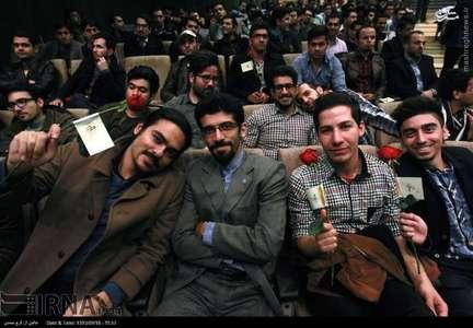 گروه تلگرام دانشجو های پزشکی دانشگاه تهران بزرگداشت روز دانشجو باحضور روحانی+تصاویر