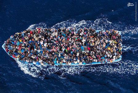 نجات مهاجران افریقایی که عازم