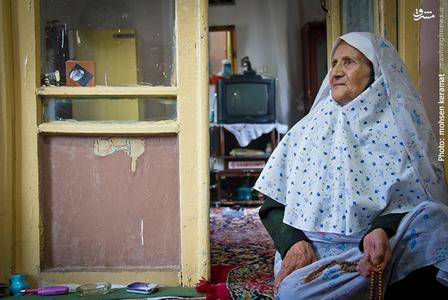 خانم اختر نیازپور،مادر شهید محمدجعفر رضایی