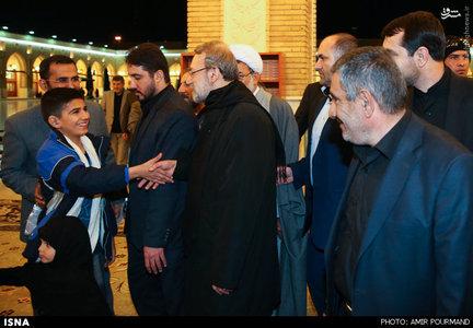 حضور رییس مجلس در مسجد کوفه