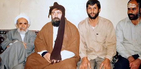 آیت الله جمی در کنار مرحوم سید احمد خمینی