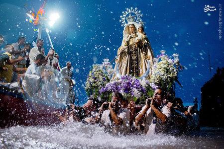 مراسمي در اسپانيا