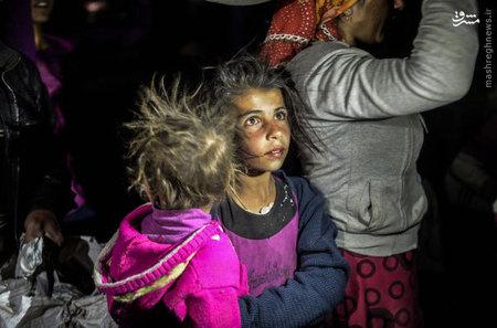 پناهجويان كرد سوري در مرز مشترك سوريه و تركيه