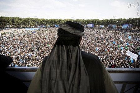 كمپين انتخاباتي عبدالله عبدالله در افغانستان