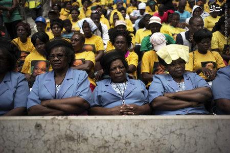 برگزاري مراسم كنگره ملي افريقا در آفريقاي جنوبي