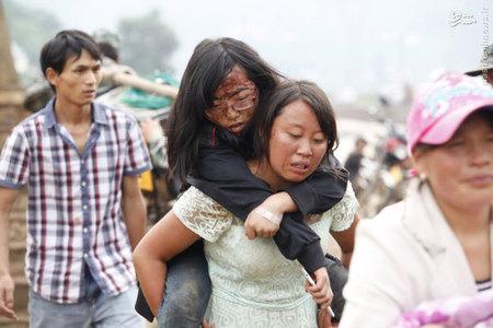 مجروح زلزله در استان يون نان چين