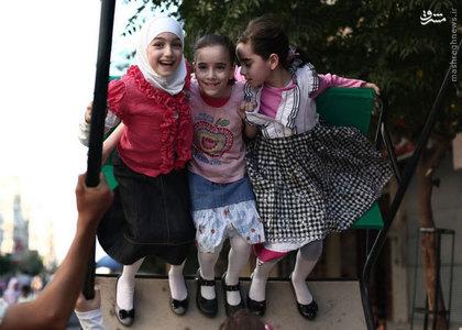اولين روز عيد فطر در سوريه