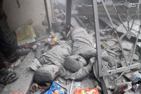 كودكان كشته شده در درگيري هاي سوريه