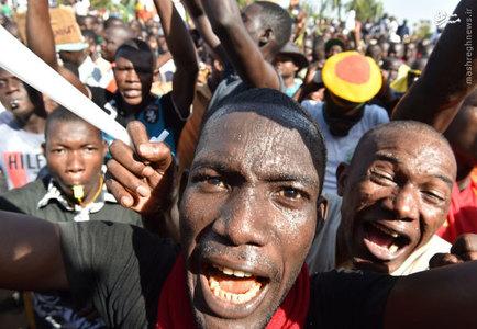 تظاهرات مخالفان به پيشنهاد تمديد رياست جمهوري سابق بوركينافاسو