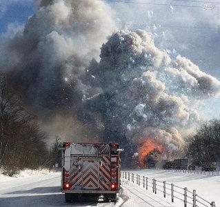 resized 855924 674 تصادفی که منجر به آتشبازی شد / تصاویر