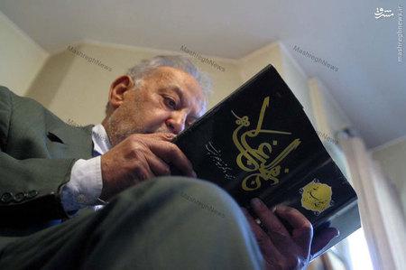 استاد سید جعفر شهیدی در دفتر لغتنامه دهخدا