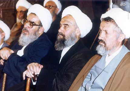 آیات: محمد فاضل لنکرانی، حسین راستی کاشانی و محمد مومن از اعضای جامعه مدرسین حوزه علمیه قم