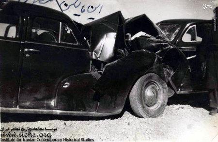 تصادفی به نسبت شدید در دهه بیست، از معضلات ناگزیر اضافه شدن اتومبیل به زندگی ایرانیان