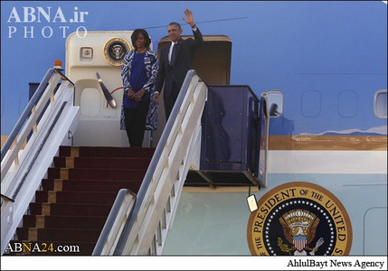 همسر اوباما در عربستان