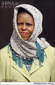 همسر اوباما در اندونزی