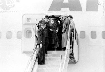 12 بهمن 57، لحظات اولیه ورود امام خمینی به ایران