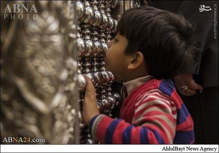 عکس/ زیارت حرم حضرت ابراهیم مجاب(ع) در کربلا