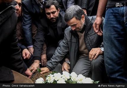 مراسم ختم مادر احمدی نژاد مادر احمدی نژاد