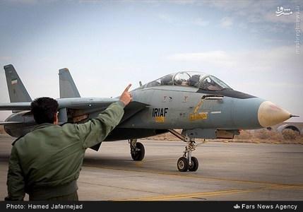 عکس/ اورهال هواپیمای جنگنده f14